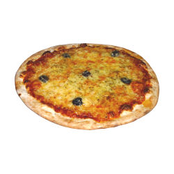 Pizza figatelli chèvre 34 cm