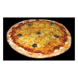 Pizza oignons lardons 34 cm
